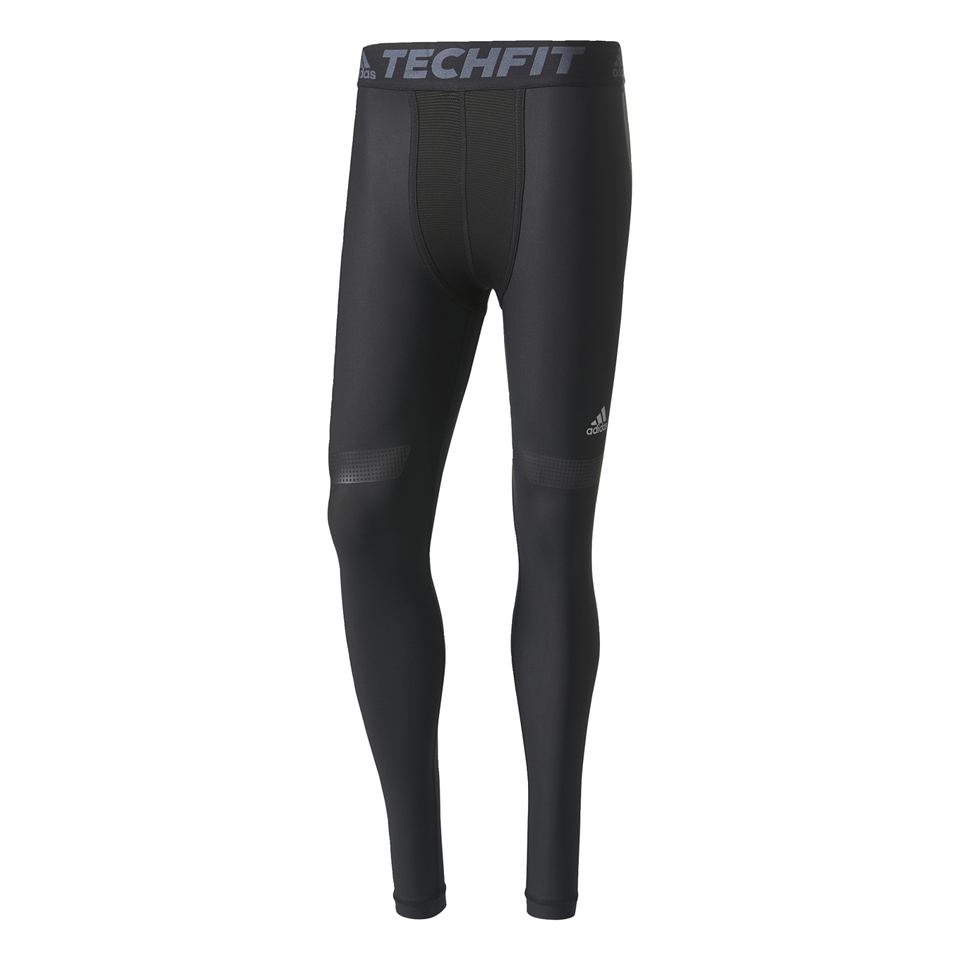 adidas Men\u0027s TechFit Climachill Tights - Black Sports \u0026 Leisure | TheHut.com