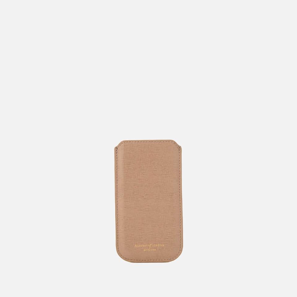 promo code cdae9 1e90b Aspinal of London iPhone 6/7 Sleeve - Deer Brown