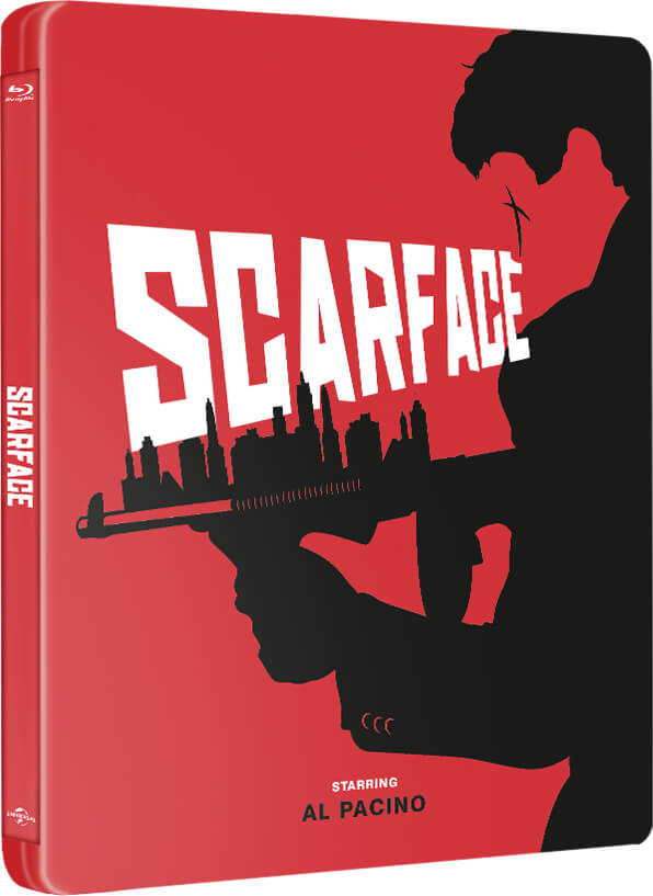 Scarface 1983 Zavvi Exclusive Steelbook Limited To