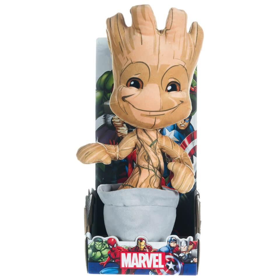 Marvel Avengers Plush Baby Groot 10 Quot Toys Zavvi