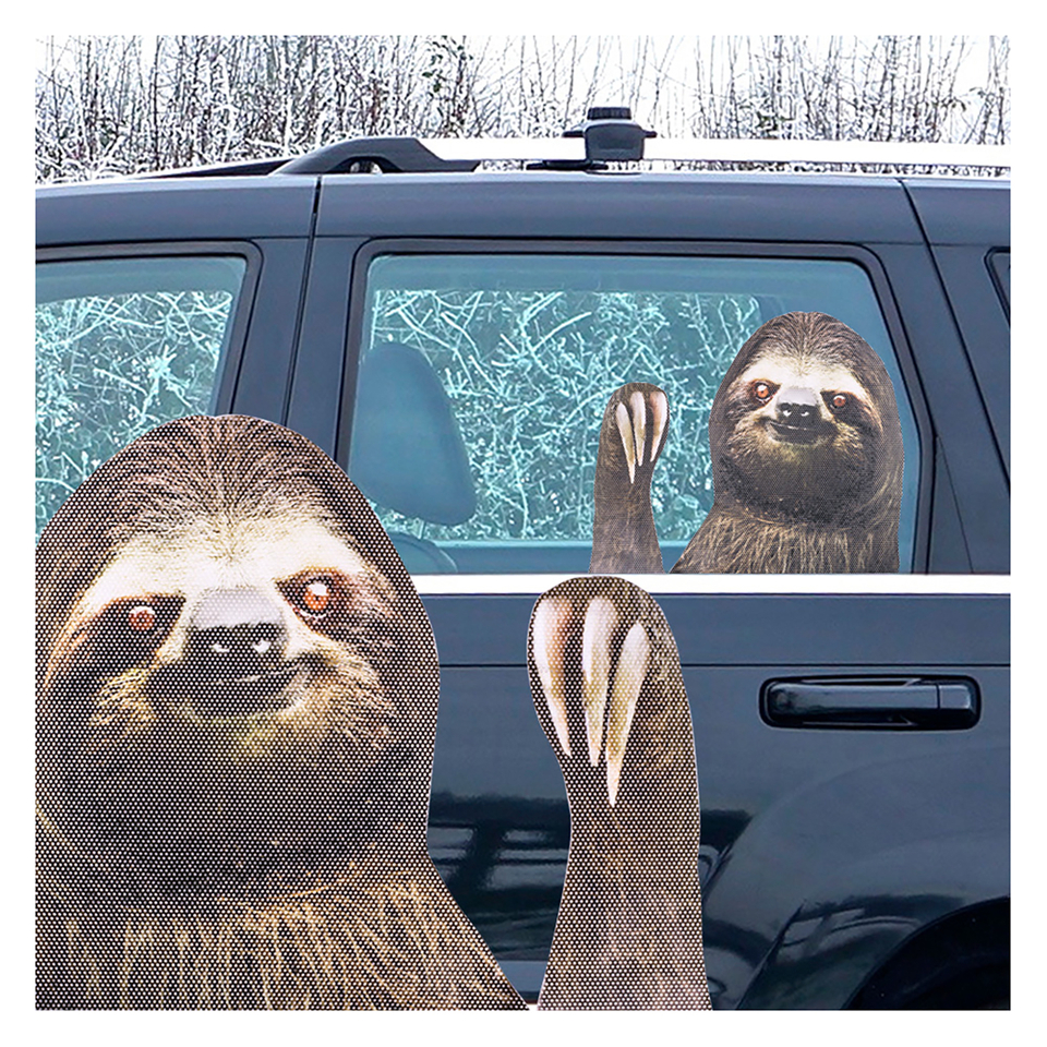 Ride With Car Stickers Sloth Pop In A Box Us