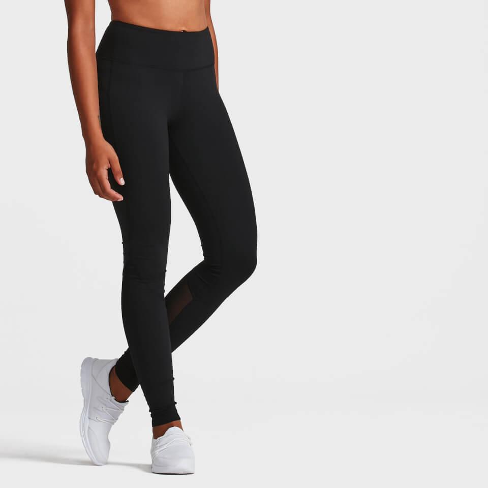 Elle Fitness Leggings: IdealFit Core Full Length Leggings - Black