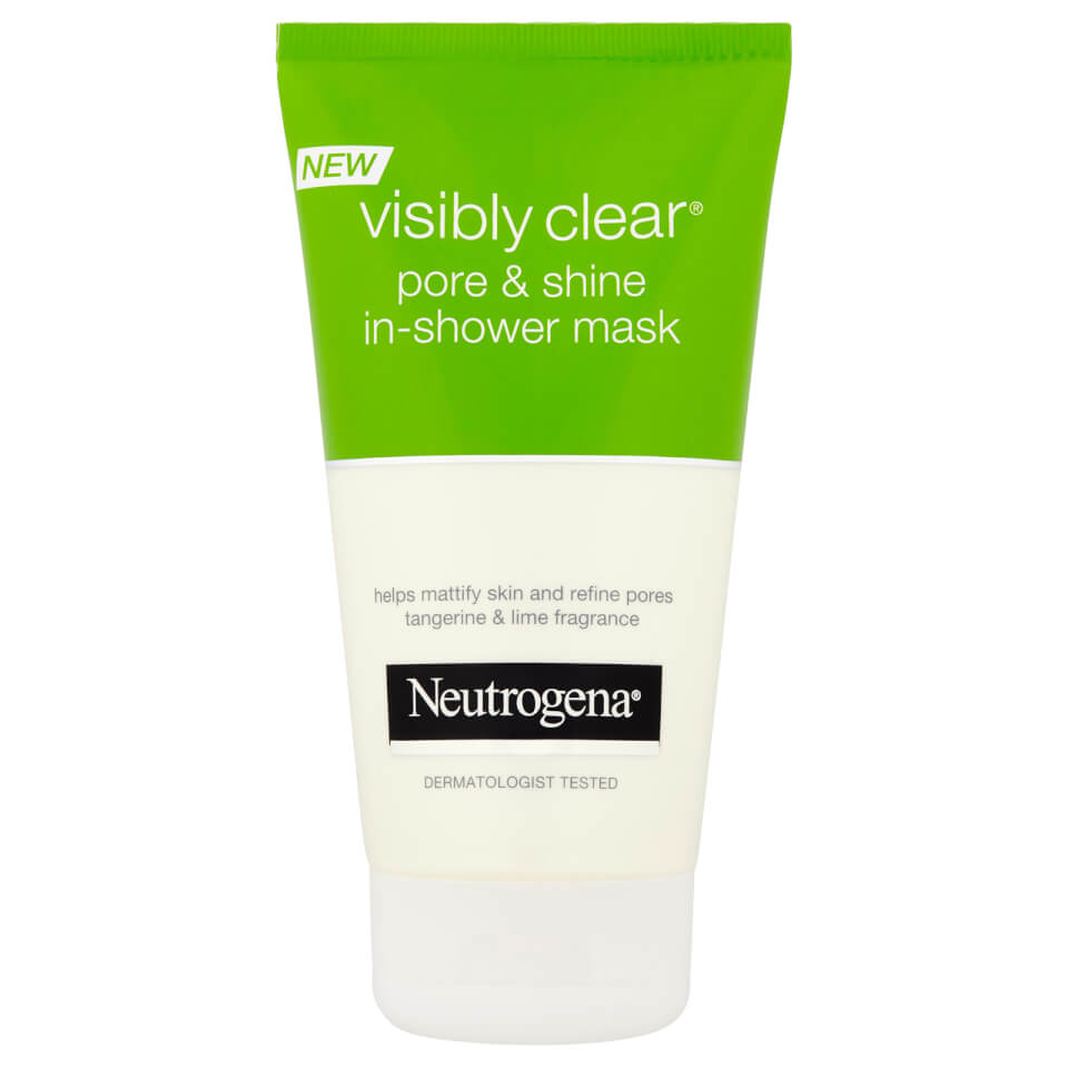 neutrogena visibly clear pore and shine mask free shipping lookfantastic. Black Bedroom Furniture Sets. Home Design Ideas