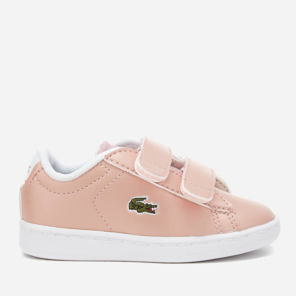 Lacoste Toddlers Carnaby Evo 317 6 Trainers Light Pink