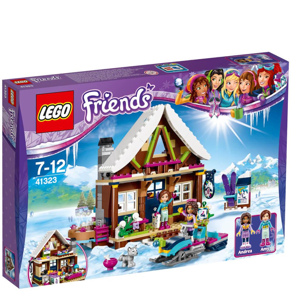 Lego Friends Winter Holiday Snow Resort Chalet 41323