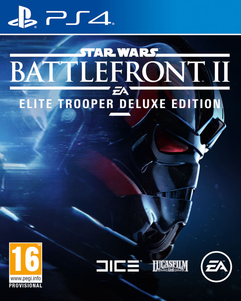 Star Wars Battlefront II: Elite Trooper Deluxe Edition PS4 | Zavvi.com