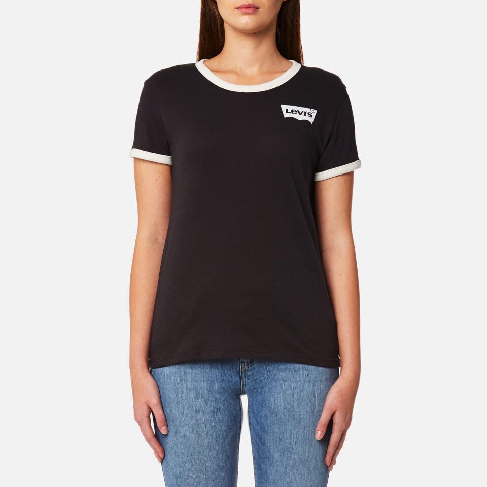 Levi 39 S Women 39 S Perfect Ringer T Shirt Jet Black Free