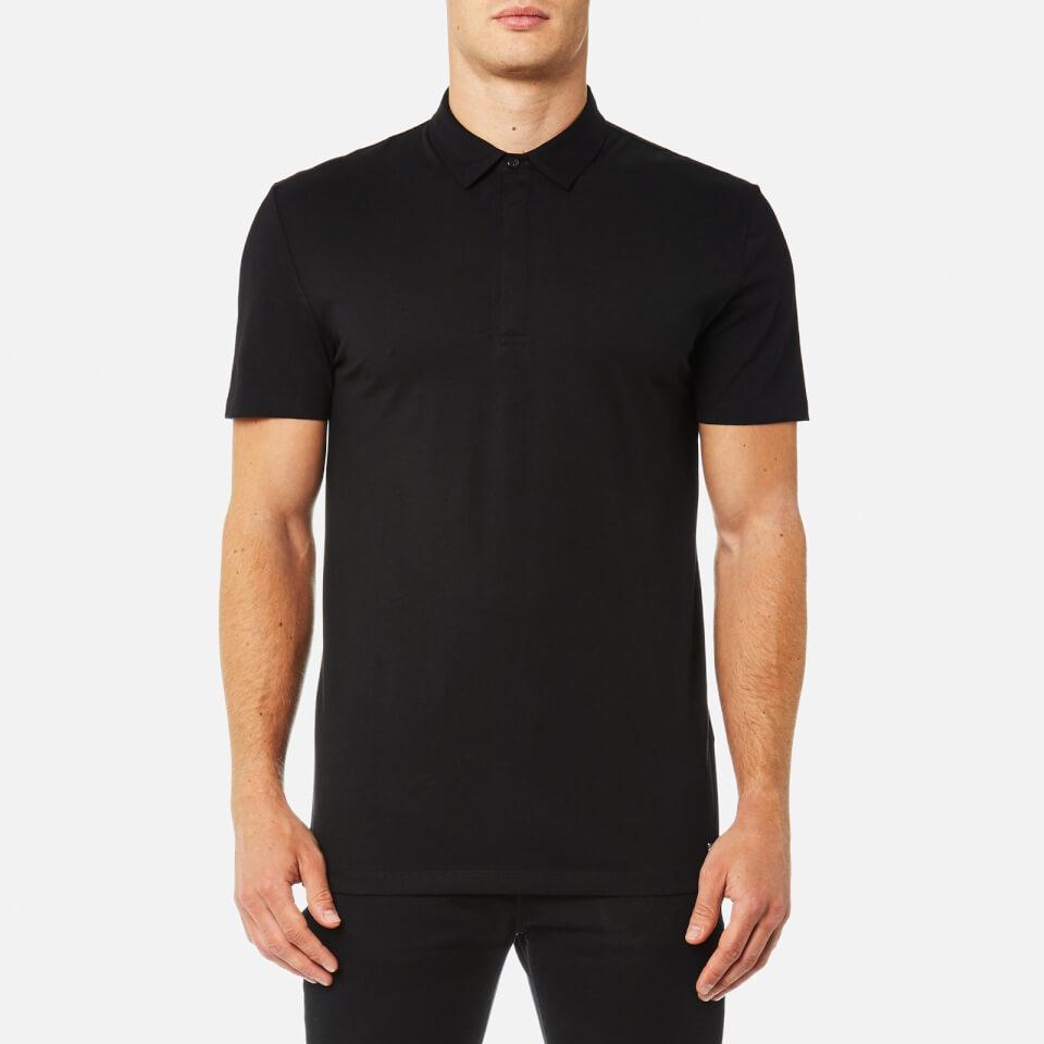Versace collection men 39 s medusa back logo polo shirt for Polo shirts for men on sale