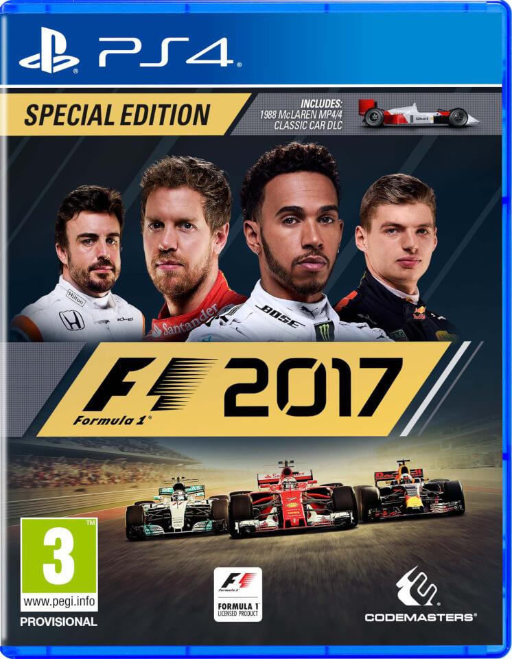 F1 2017 Special Edition PS4 | TheHut.com