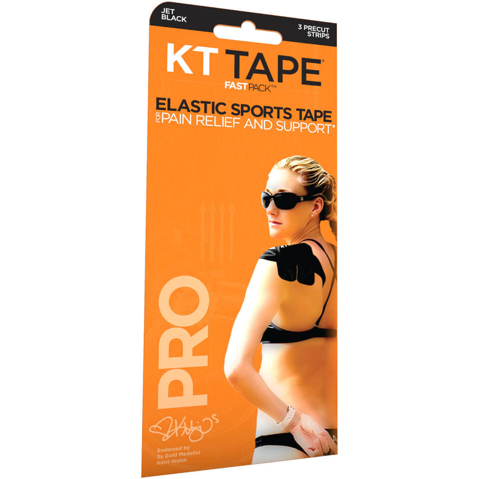 KT Tape Pro Synthetic Strips - 3 Strips | swim_clothes