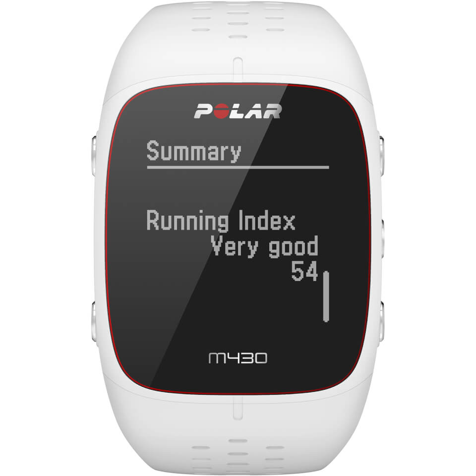 Polar M430 GPS Running Watch - White   Sports watches