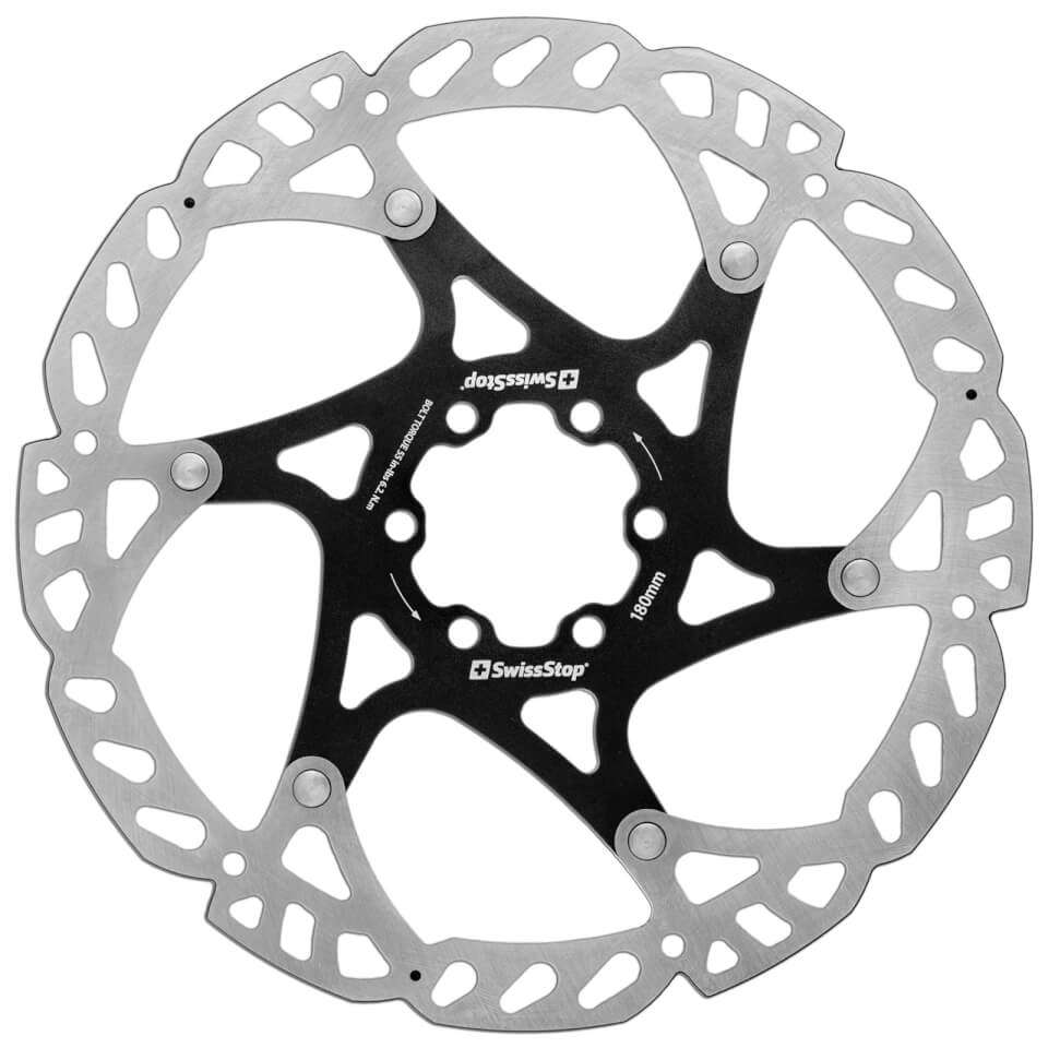 SwissStop Catalyst 6 Bolt Disc Rotor - 180mm | Brake pads