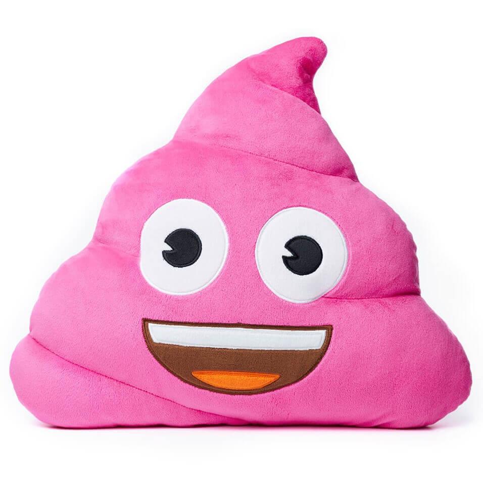 Pink Poo Emoji 174 Cushion Iwoot