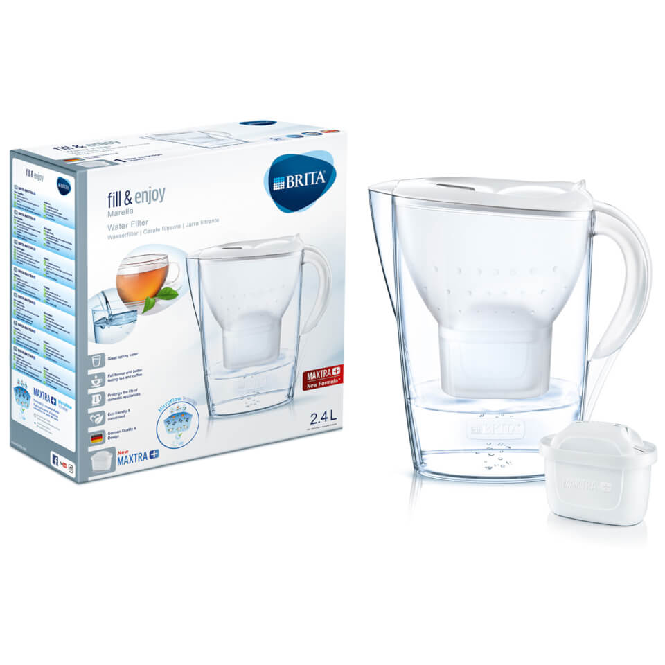 brita maxtra marella cool water filter jug white. Black Bedroom Furniture Sets. Home Design Ideas