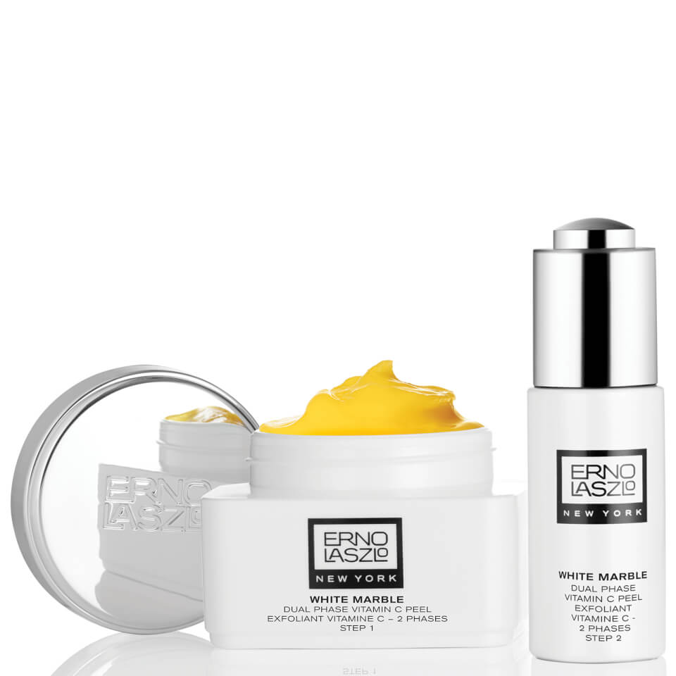 Erno Laszlo White Marble Dual Phase Vitamin C Peel Hq Hair
