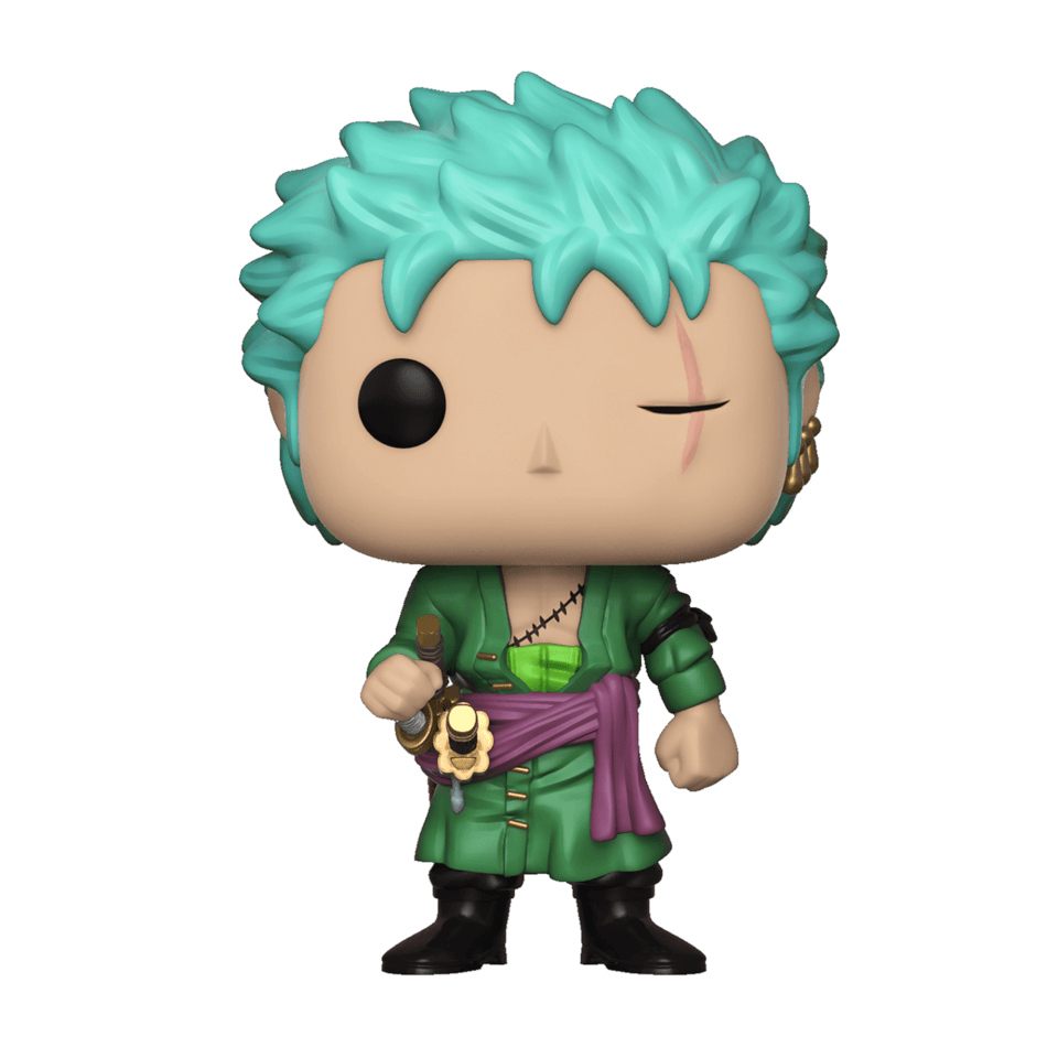 One Piece Zoro Pop Vinyl Figure Merchandise Zavvi