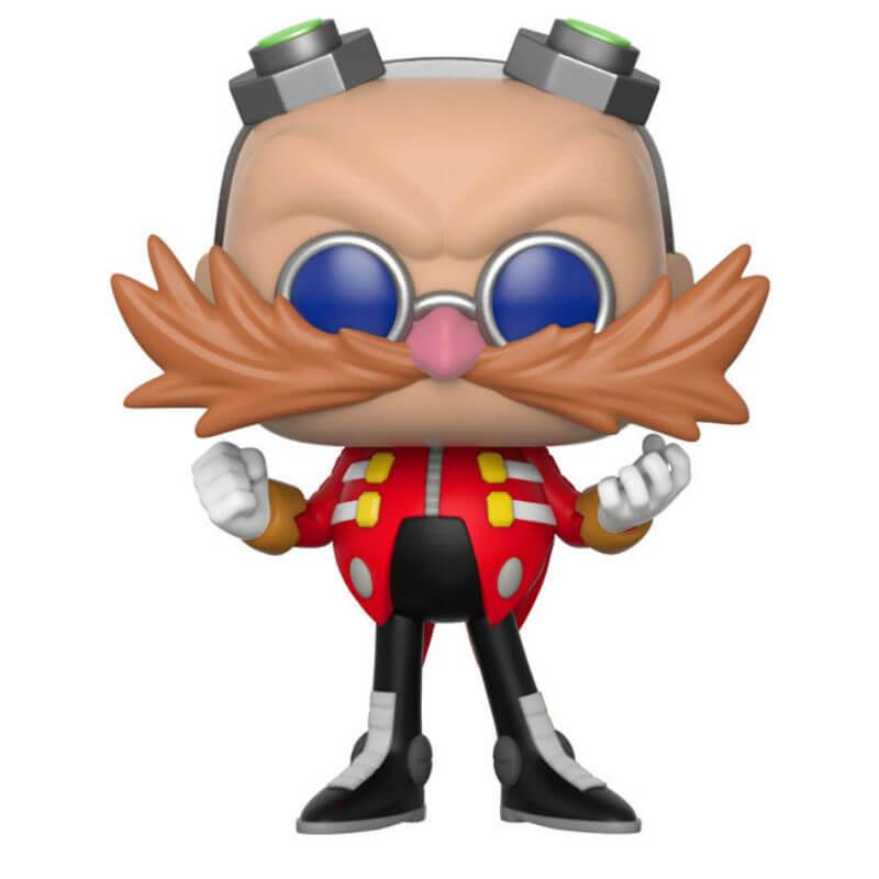 Sonic The Hedgehog Dr Eggman Funko Pop Vinyl Pop In A Box Us