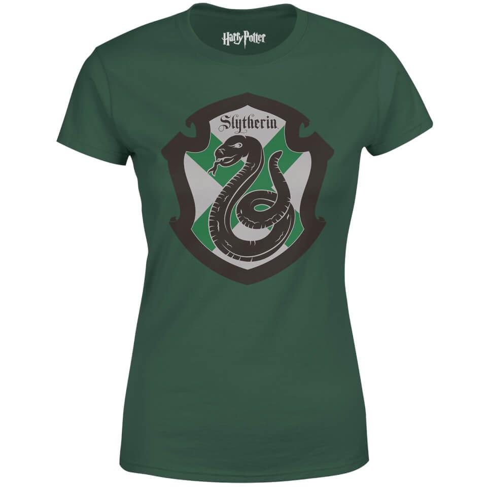 Harry Potter House Slytherin Dames T Shirt Groen