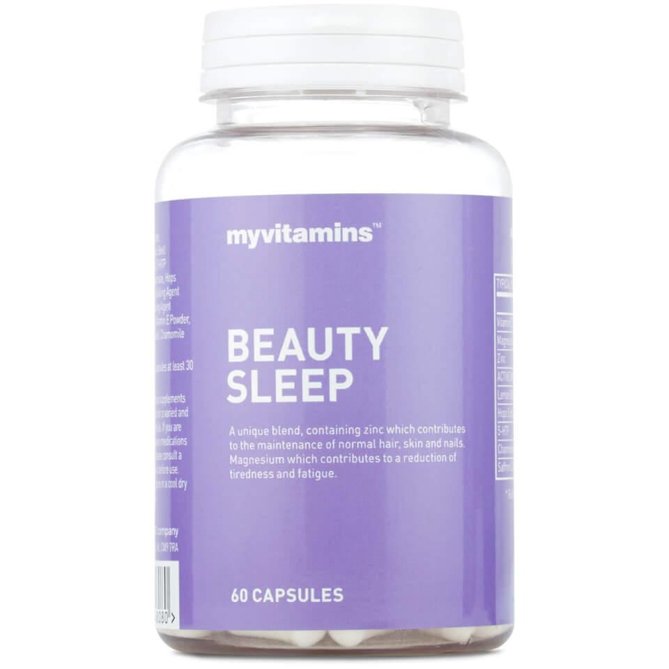 Beauty Sleep Vitamins For Sleep Hair Skin And Nails