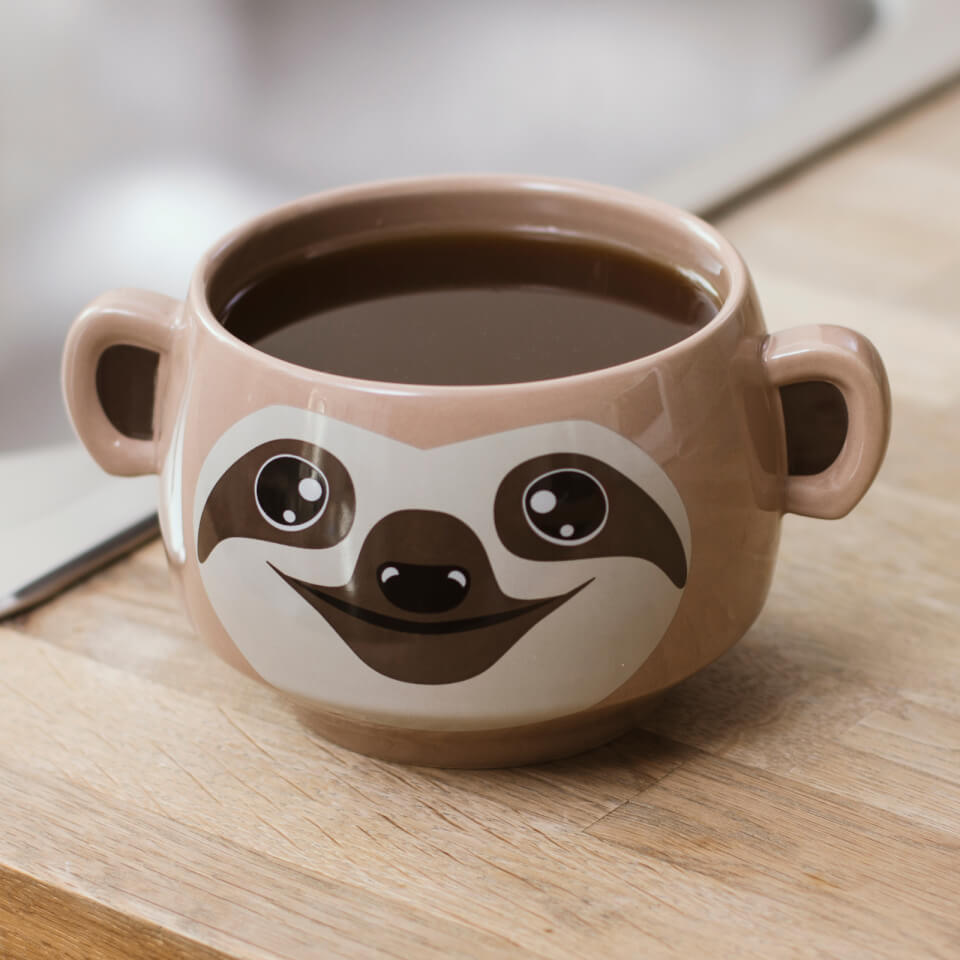 Gifts under 10 fantastic present ideas for less iwoot sloth mug negle Images