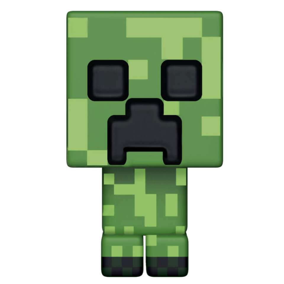minecraft creeper pop  vinyl figure