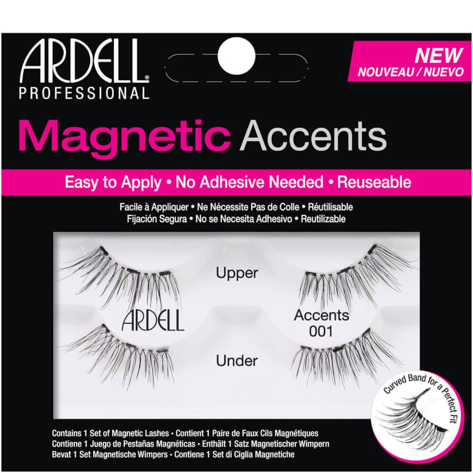1fc39a4b252 Ardell Magnetic Lash Natural Accents 001 False Eyelashes | Free Shipping |  Lookfantastic