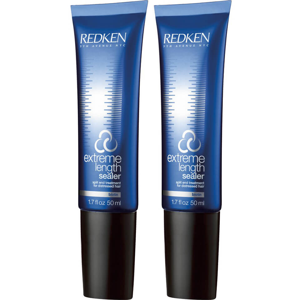 how to use redken extreme length sealer