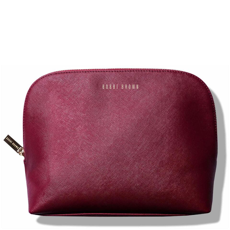 Bobbi Brown Large Cosmetic Bag - Burgundy  8fe5d0f62a30d