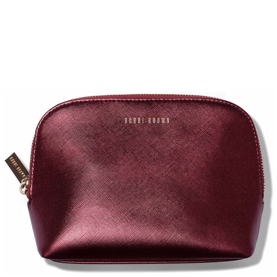 Bobbi Brown Small Cosmetic Bag Burgundy