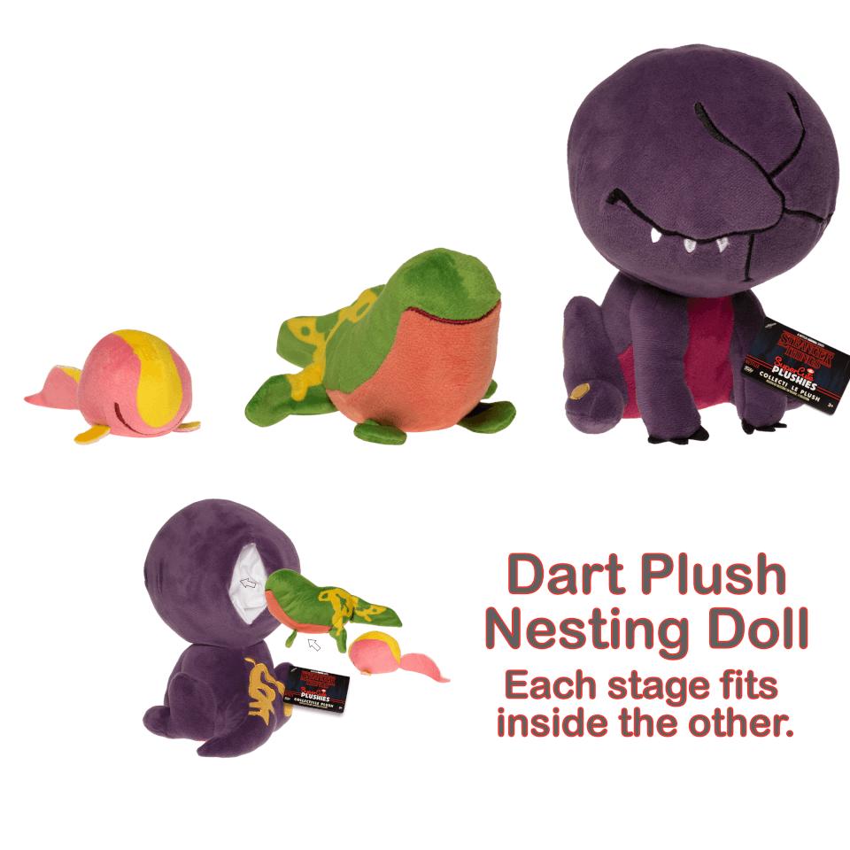 Stranger Things Supercute Plush Dart Nesting Dolls