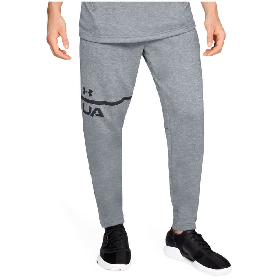 Under Armour MK1 Terry Tapered Joggers - Grey | Amour