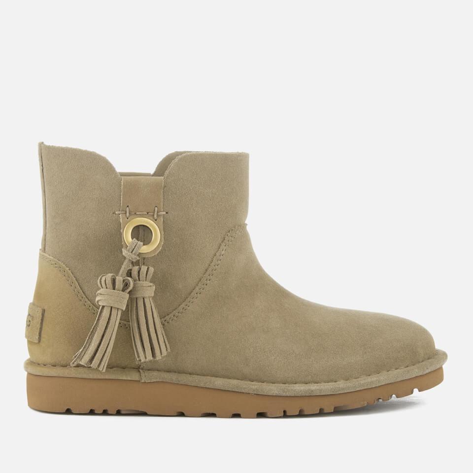 ugg women 39 s gib suede unlined ankle boots antelope bekleidung. Black Bedroom Furniture Sets. Home Design Ideas