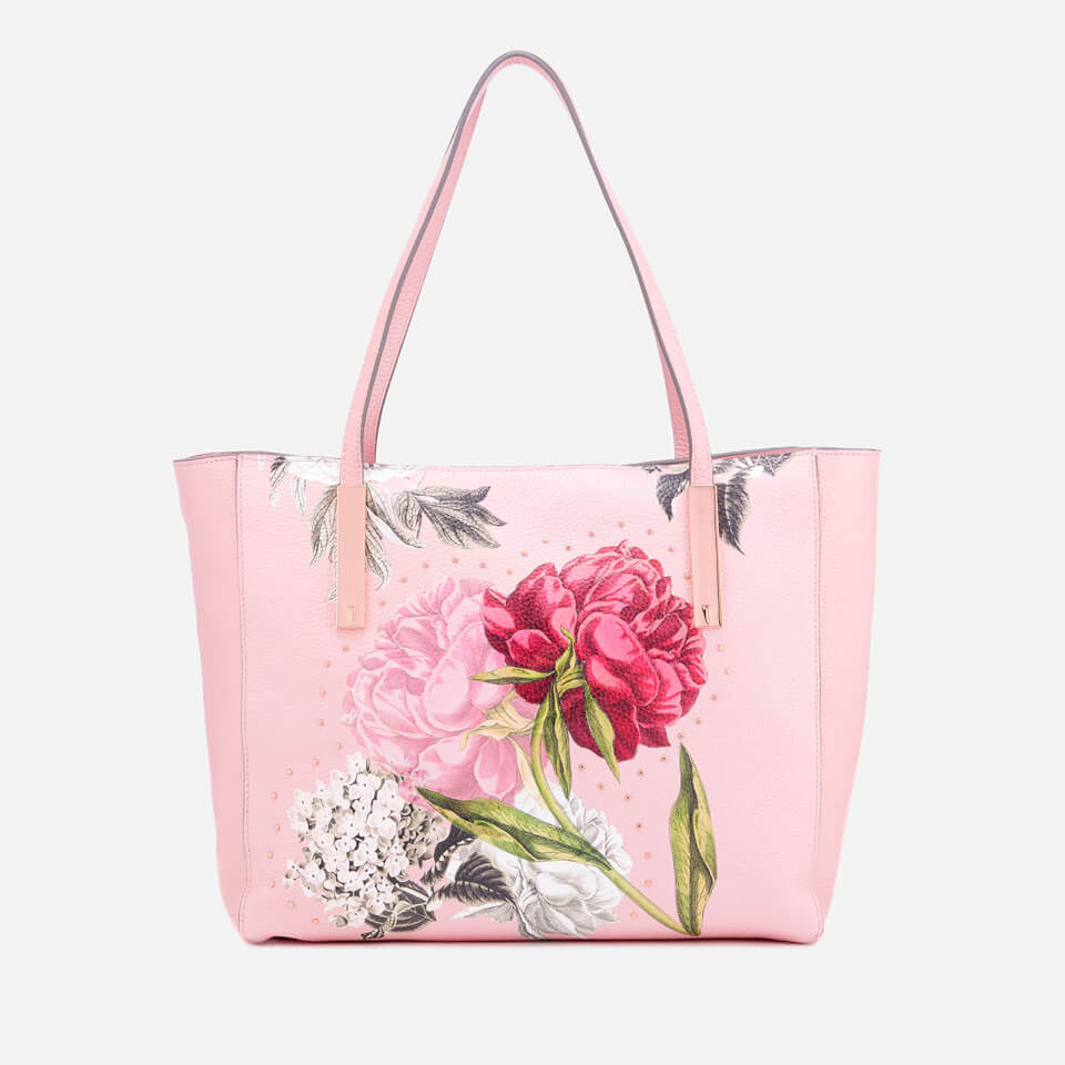 a25e3814d005 Ted Baker Women s Peonina Palace Gardens Large Tote Bag - Dusky ...