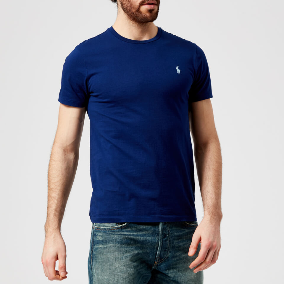 Polo Ralph Lauren Men s Basic Crew Neck Short Sleeve T-Shirt - Fall Royal -  Free UK Delivery over £50 f1506ca0193a