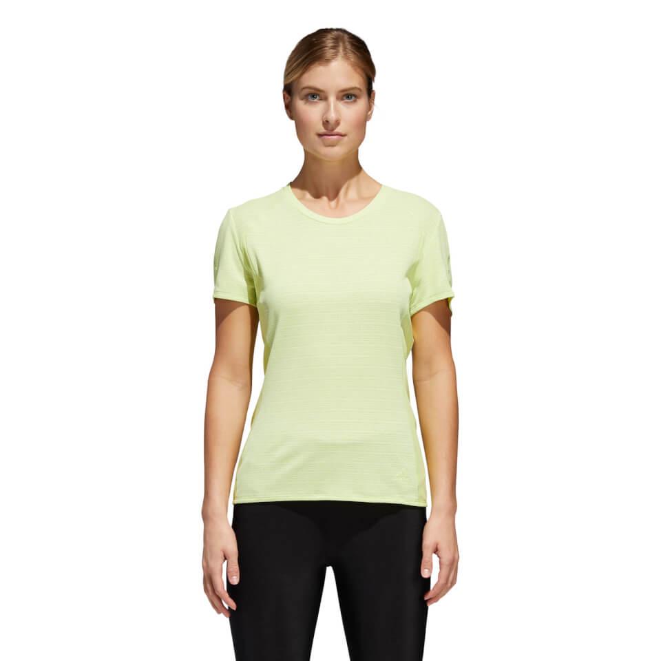 adidas Women's Supernova 37C T-Shirt - Yellow | Jerseys
