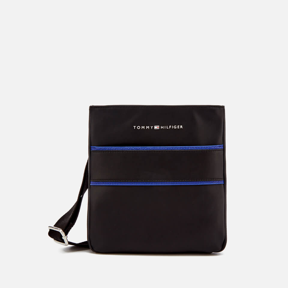 275fca26f Tommy Hilfiger Men's Pop Stripe Mini Crossover Bag - Black/Sodalite Blue