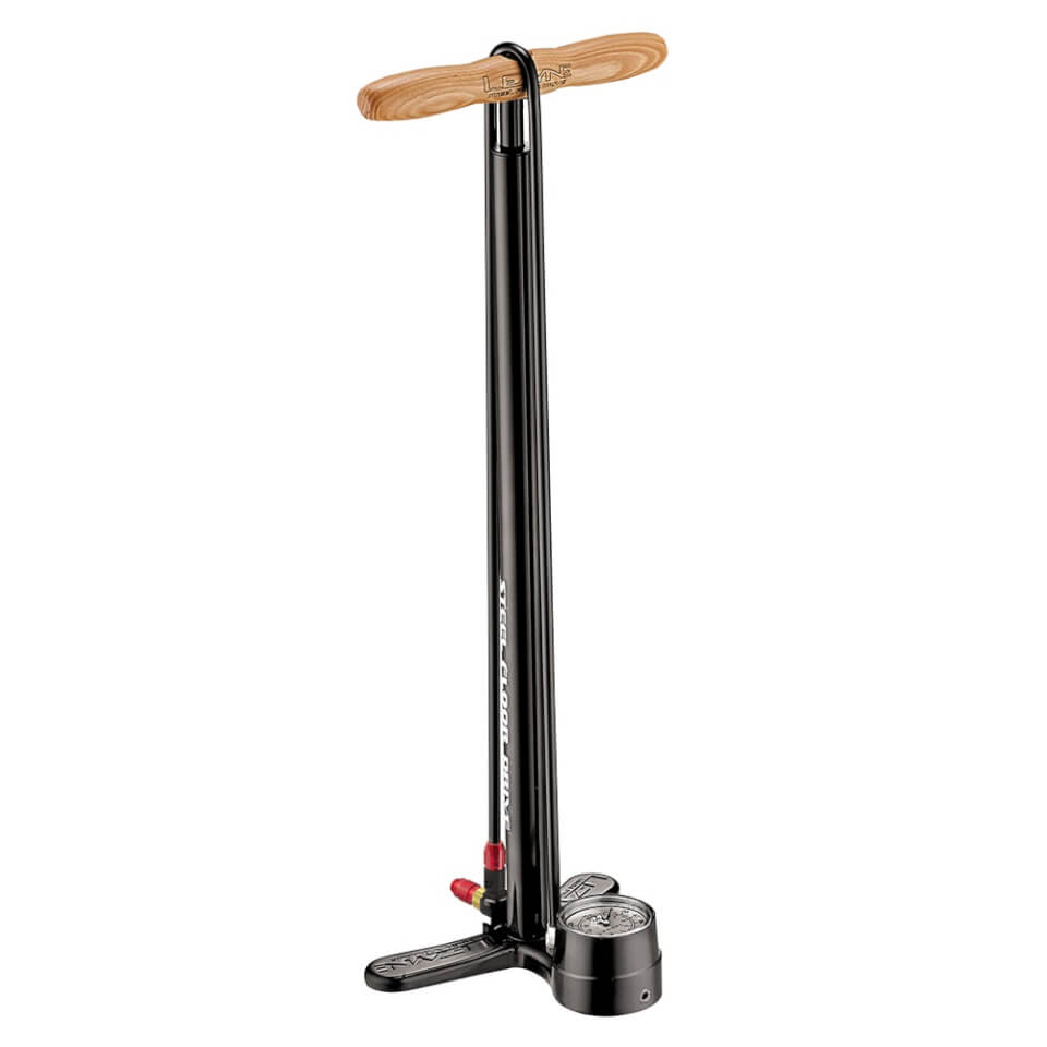 Lezyne Steel Floor ABS Head Drive Pump Tall - Black   Minipumper