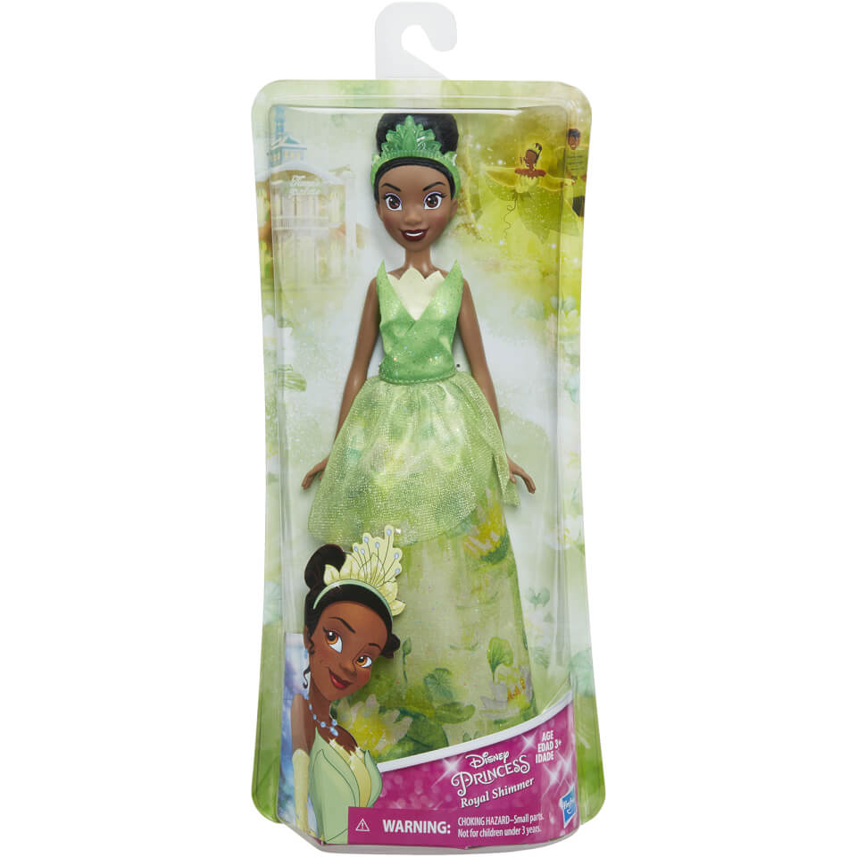 Disney Princess Tiana Royal Shimmer Fashion Doll Toys