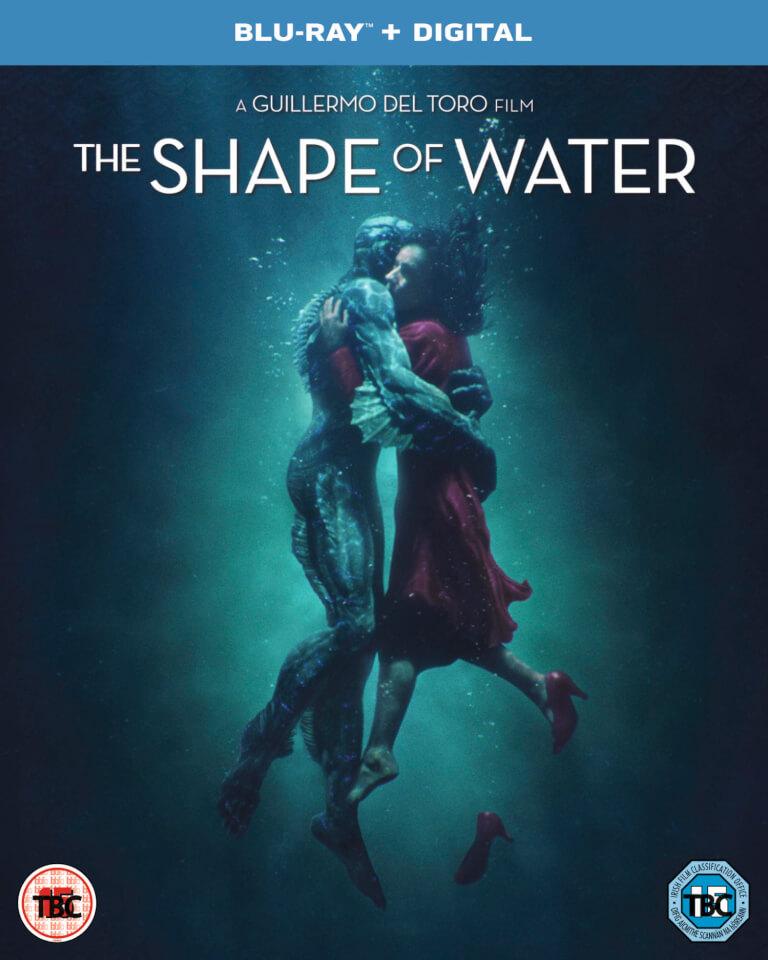 The Shape Of Water Blu Ray Zavvi