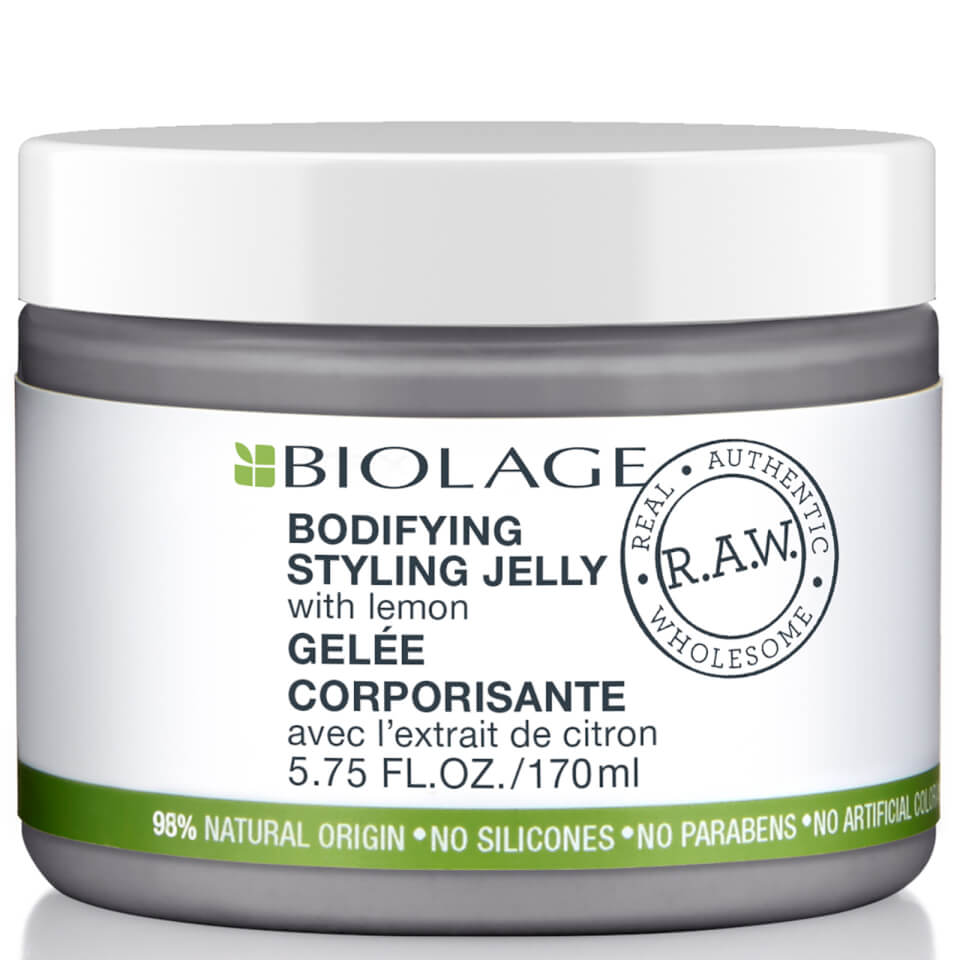 Biolage Raw Bodifying Styling Jelly 170ml Free Shipping Clear Shampoo Complete Soft Care Men 170 Ml Lookfantastic