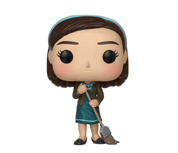 Shape Of Water Elisa With Broom Pop Vinyl Figure Pop In