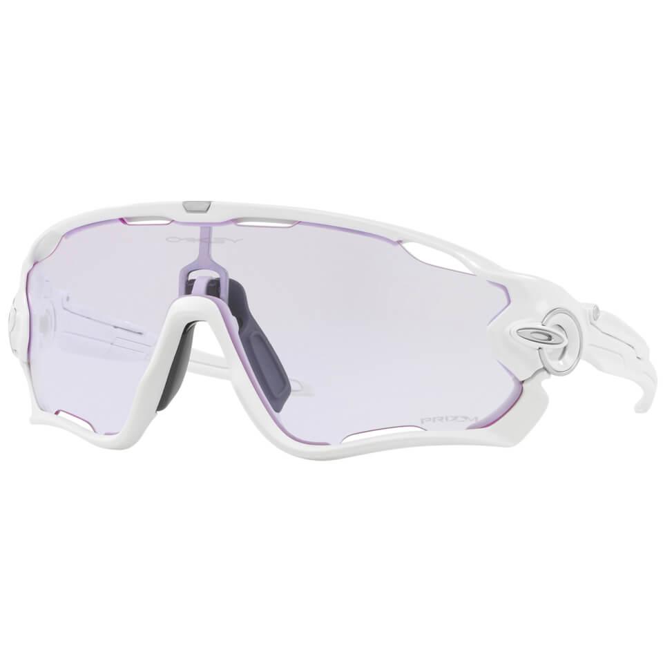 Oakley Jawbreaker Sunglasses - Polished White/Prizm Low Light | Glasses