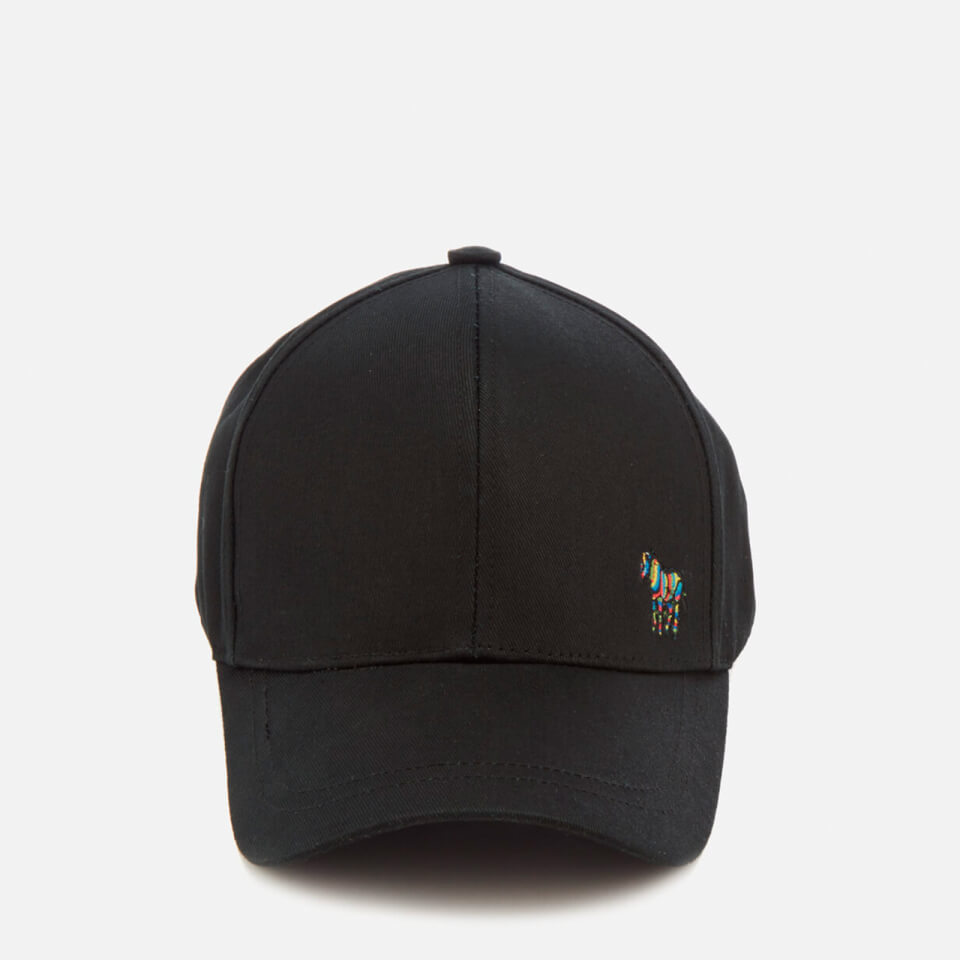 PS Paul Smith Men s Zebra Baseball Cap - Black 633aaf66f3b6