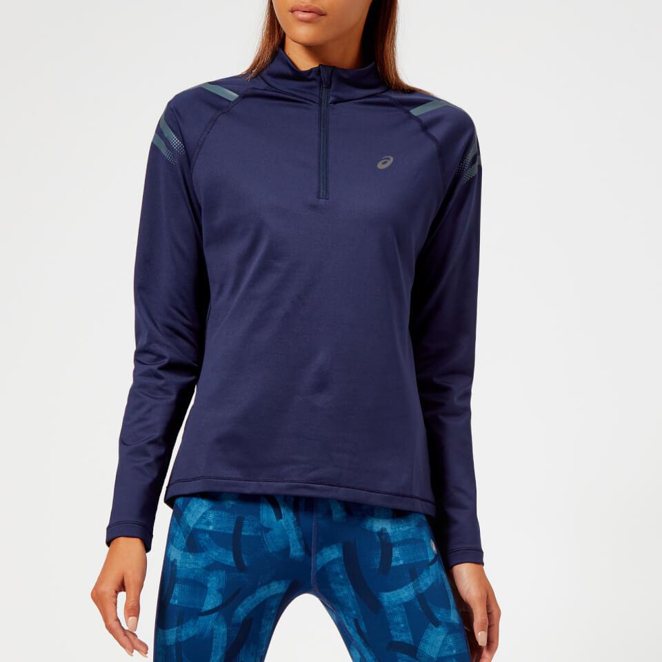 Asics Women's Icon Winter Long Sleeve 1/2 Zip Top - Peacoat/Ironclad | item_misc
