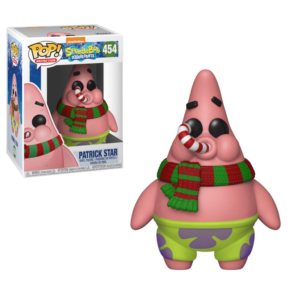Spongebob Squarepants Holiday Patrick Pop Vinyl Figure