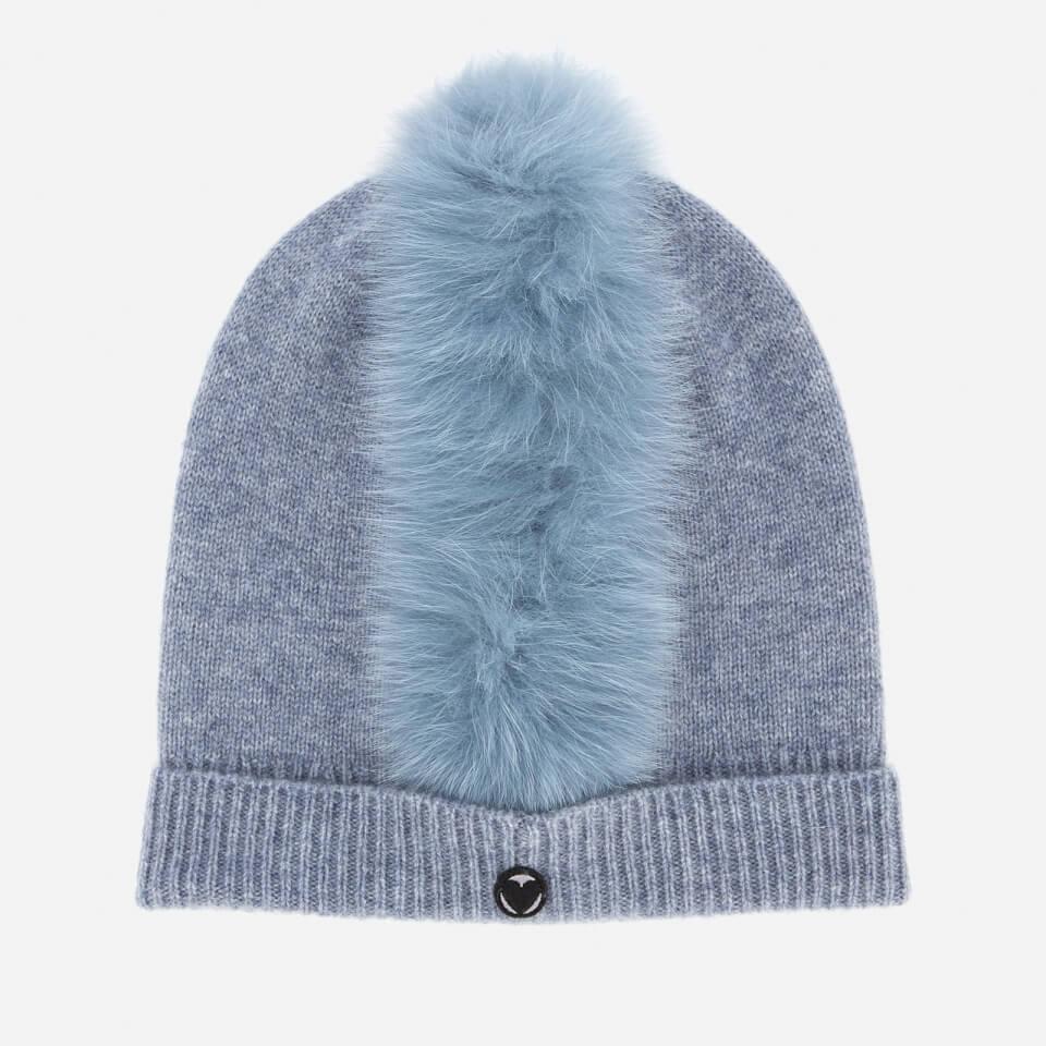 Charlotte Simone Women s Mo Mohawk Hat - Denim Blue f686688764e