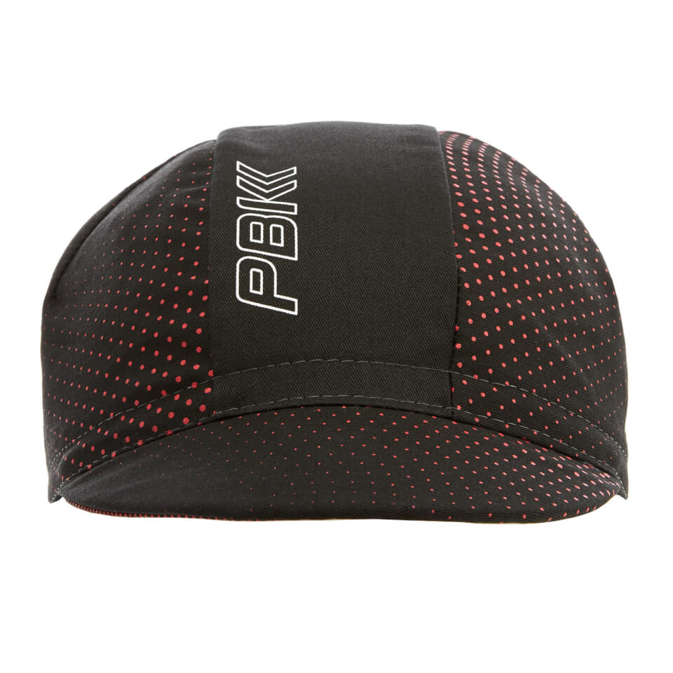 PBK Santini 19 Race Cotton Cap - Black/Red | Headwear