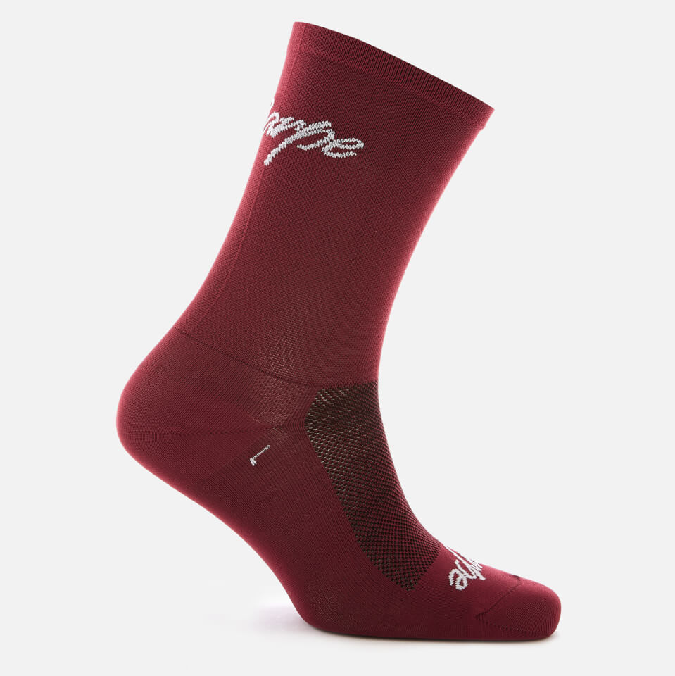 Sako7 Carpe Diem Socks - Burgundy | Socks