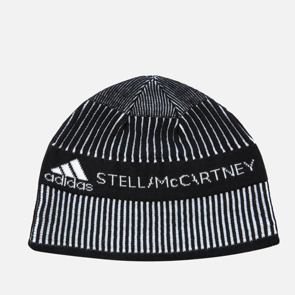 31b22ae07f3 adidas by Stella McCartney Women s Run Beanie Hat - Black White - Free UK  Delivery over £50
