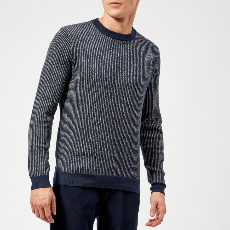 6522598799f423 Ted Baker Men s Jinxi Crew Neck Jumper - Navy Mens Clothing